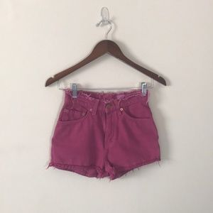 Vintage Levi's High Waisted Cut Off Shorts Size 0